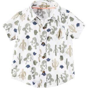 CARTER'S Cactus 🌵 Print Baby Button Dress Shirt